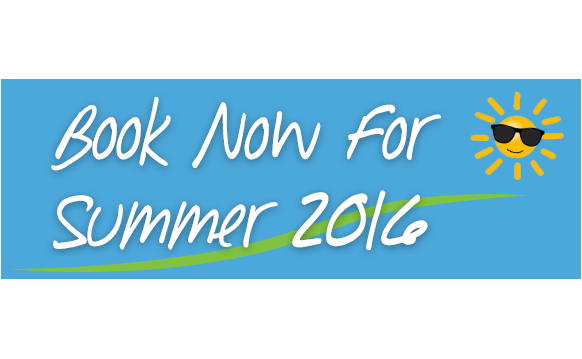 Book now for Summer 2016